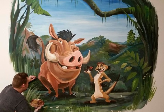 Timo en Pumba