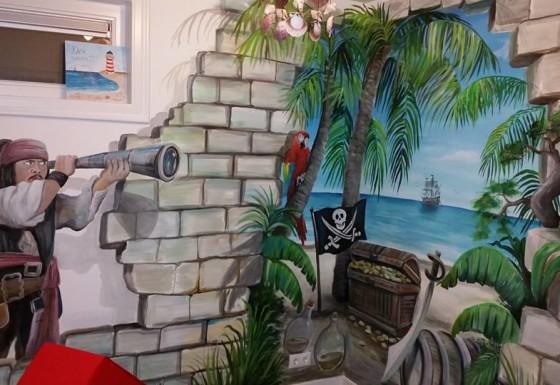 Kinderspeelkamer: Piratenkamer