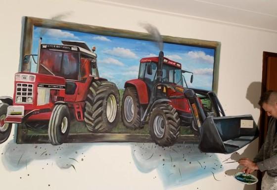 2 x Case 3d schilderij
