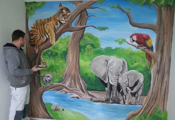 Jungle met dieren