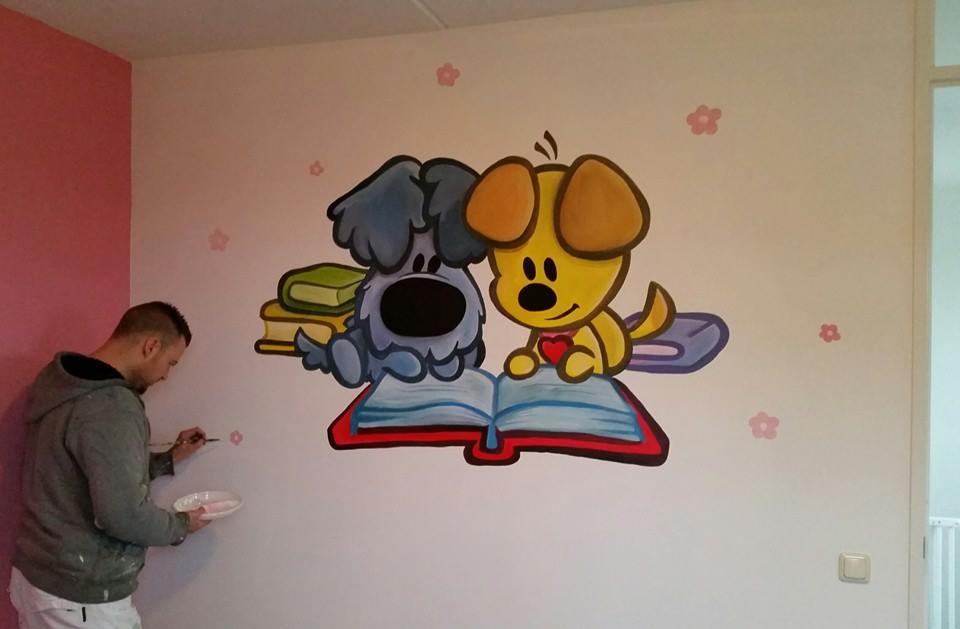 Woezel en Pip lezen een boek