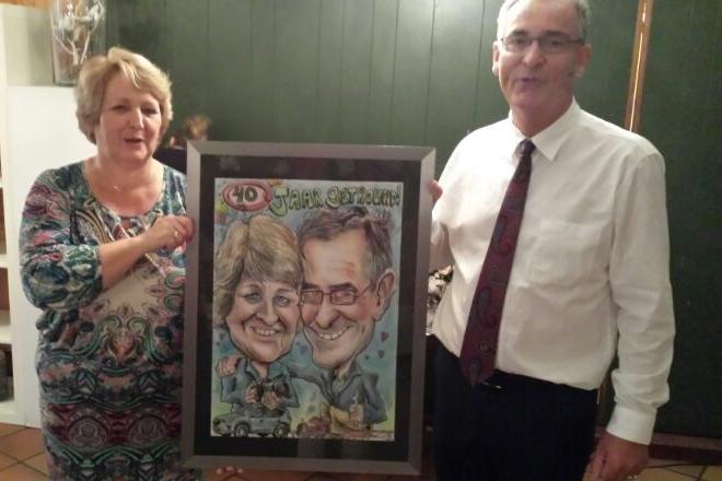 40 jaar getrouwd!