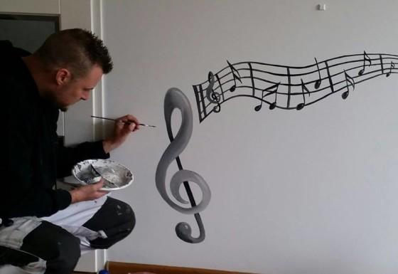 muziekbalkje