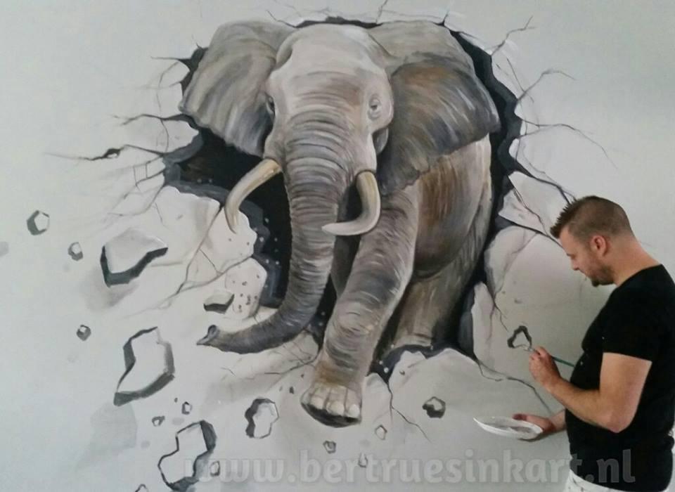 3d- olifant