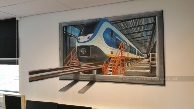 Nedtrain NS (Utrecht)