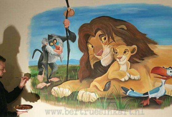 Lionking babykamer