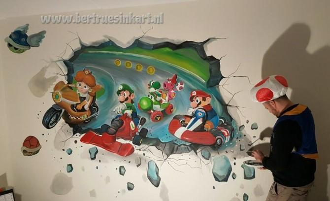 Super Mario Kart 3d!