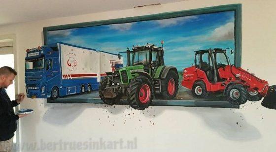 G. Buijtenhof Agrarische dienstverlening Transport (Uddel)