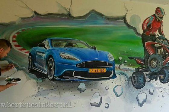 Quad vs Aston Martin