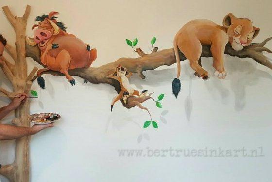 Simba Timon en Pumba slapen lekker !