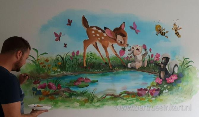 Bambi, Stampertje, Maya de bij en vrienden