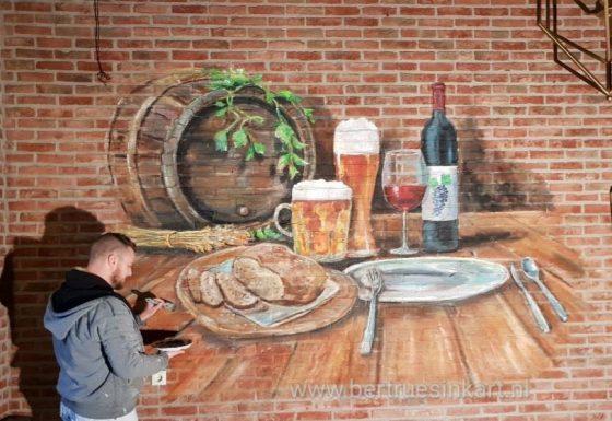 bourgondisch tafereel in de Geste restaurant Stegers (Aalten)