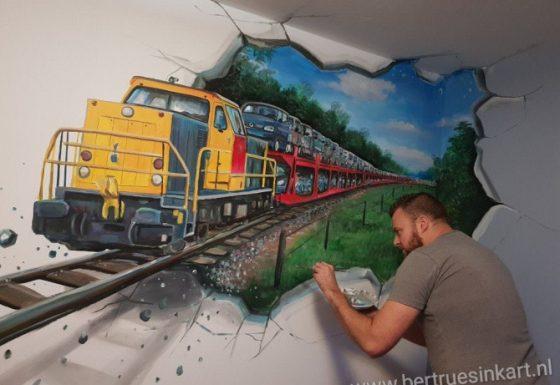 pon-lijn trein