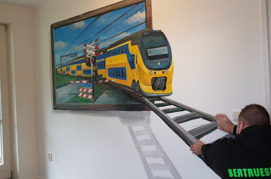 3d trein !