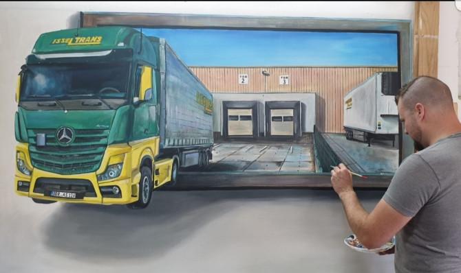 Isseltrans Spedition-Logistik (Isselburg Duitsland)